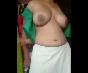 Indian Aunty Solo Strip